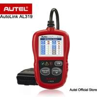 [5 unids/lote] Autel AutoLink AL319 Bordo Diagnóstico OBD2/CAN Lector de Código Auto Escáner de Código de Avería definiciones de las exhibiciones DTC