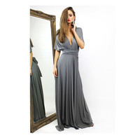 2017 New Europe US Style Summer Autumn Long Dress Sexy Deep V Neck Backless Female Evening