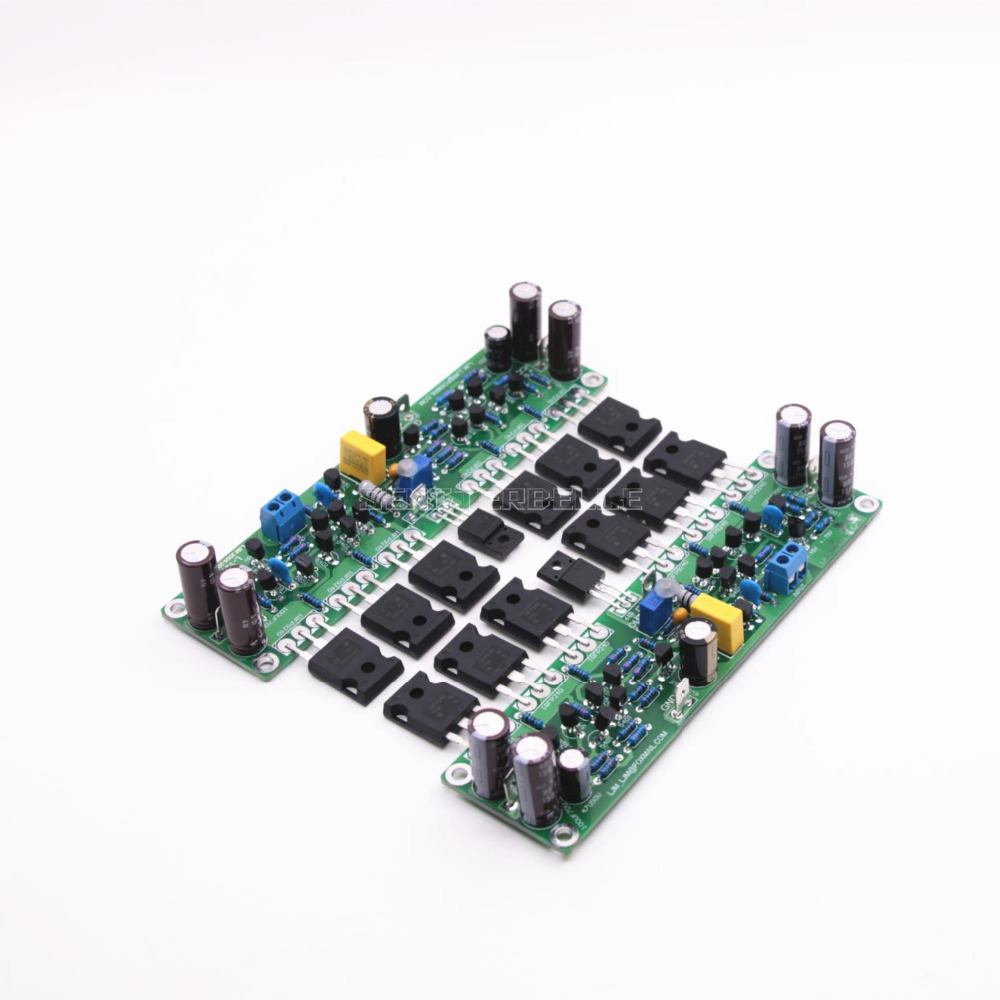 цена на Assembled L15 2-Channels MOSFET Stero Audio Power Amplifier Board DIY IRFP240 IRFP9240 Field effect Tube AMP