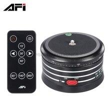 AFI MRA01 Panorama Head Metal Electric professional mini camera portable tripod for camera dslr GoPro mirrorless smartphone