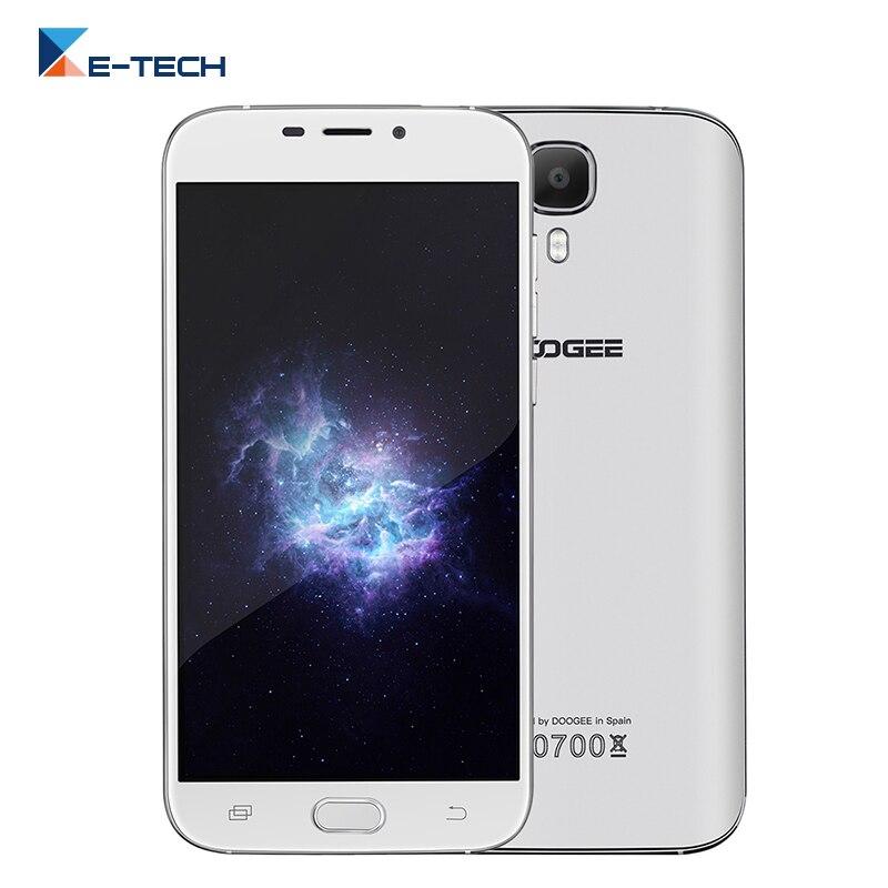 Цена за Оригинал Doogee X9 мини Смартфон Android 6.0 MTK6580 Quad Core 5.0 7 дюймовый Экран HD 1 ГБ RAM 8 ГБ ROM 3 Г FDD LTE Mobile телефон
