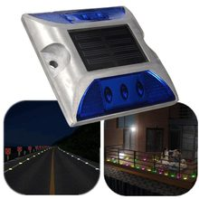 Hot NEW Ultra Strong Outdoor Solar Power LED Light Driveway Dock Path Road Fog Lamp Waterproof(China)