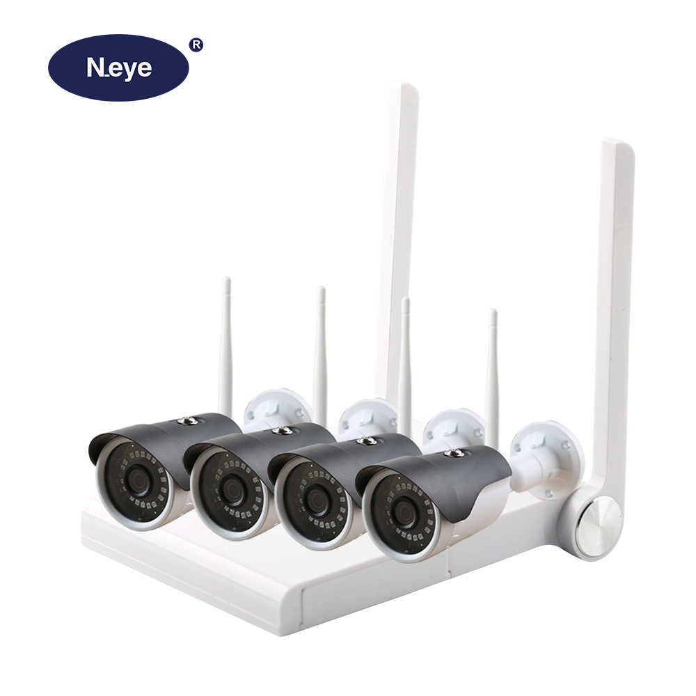 N_eye CCTV kamera System 4CH 1080P HD sicherheit Kamera DVR Kit CCTV wasserdichte Outdoor home Video Surveillance System ip kamera
