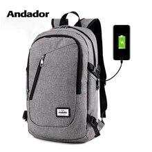Moda mężczyzna plecak na laptopa usb ładowania plecaki komputerowe na co dzień torby w stylu duży mężczyzna podróżna torba biznesowa plecak