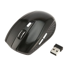 2.4GHz Wireless Mouse Portable Intelligent Gaming Mouse Optical Rolling Gamer Mice USB Receiver for PC Laptop Computer intelligent wireless keyboard mouse combo set usb 2 4ghz gaming gamer game mice multimedia waterproof for computer pc desktop
