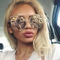 Royal girl novos mulheres fio duplo de grandes dimensões óculos de sol óculos de sol óculos big rodada vintage boêmio ss180