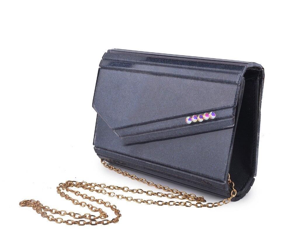 XIYUAN black flap Evening Bag Clutch Bags Clutches Wedding Purse for party/prom/dinner Handbags wallet shoulder bag handbag lady
