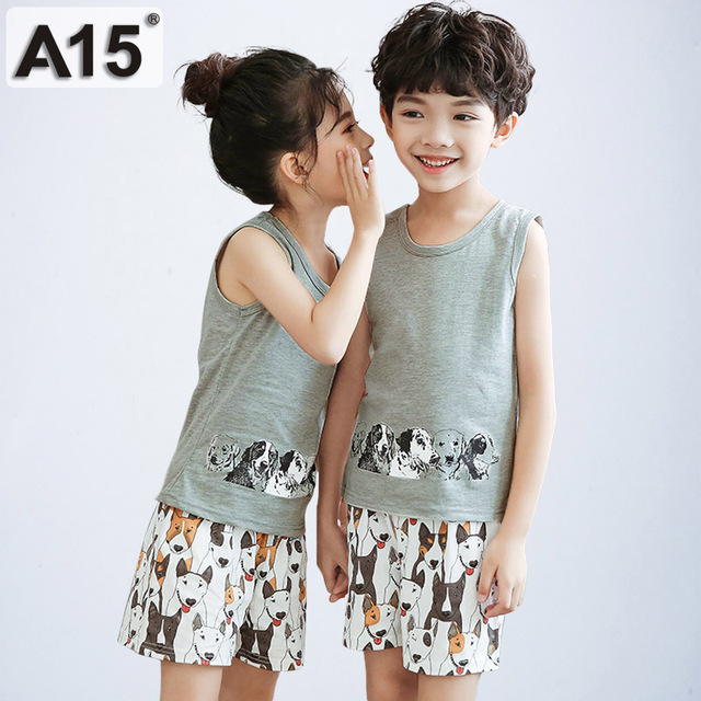 2019 חדש קיץ חמוד תינוקת תלבושת בגדי ילדים לנערים אימוניות סט בגדי פעוטה גודל 2 3 4 5 t 6 7 שנים