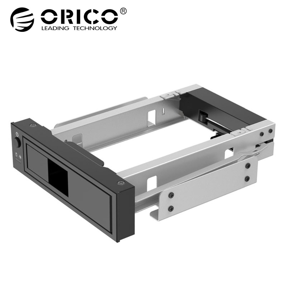 ORICO CD-ROM Space interne 3.5 pouces SATA3.0 HDD Frame Rack mobile Support de boîtier de disque dur interne Support du protocole UASP et disque dur de 8 To