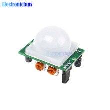 HC-SR501 HCSR501 SR501 автоматический инфракрасный сенсор Модуль Пироэлектрический корпус PIR инфракрасный сенсор модуль переключения