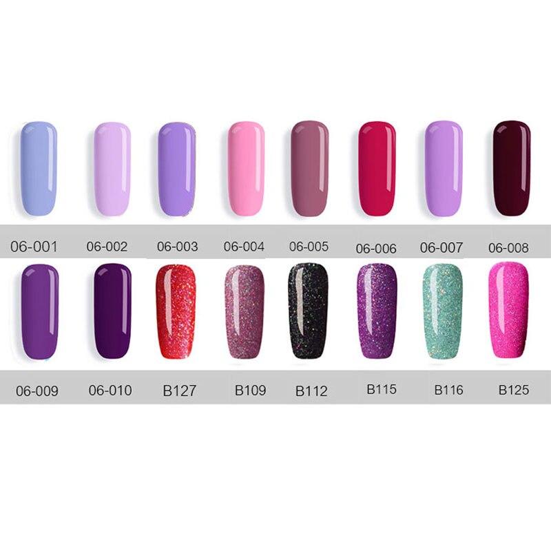 New Free Shipping Nail Art Design Manicure 40Color 7.5Ml Soak Off Enamel Gel Polish UV Gel Nail Polish gel Lacquer Varnish - 3