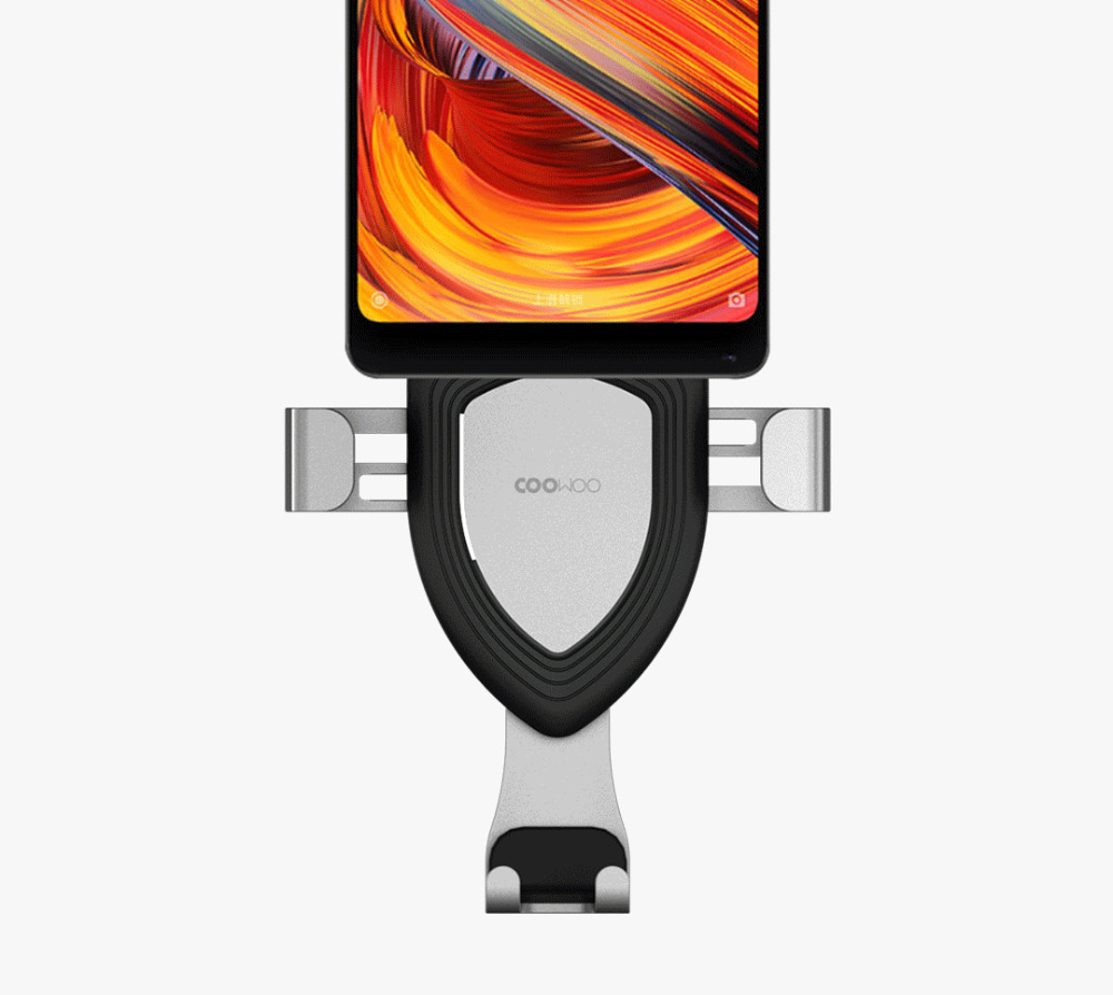 Xiaomi Mijia COOWOO Smart Car Bracket with Gravity Sensor One-handed Operation Multi-device Compatible Air Outlet Clip Holder (3)