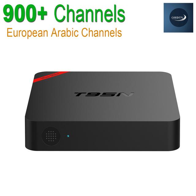 Europeu Caixa De IPTV Android TV Caixa Céu Receptor IPTV 900 + Canais Sky Francês Turco Holanda Melhor Do Que MXV Android Caixa de TV