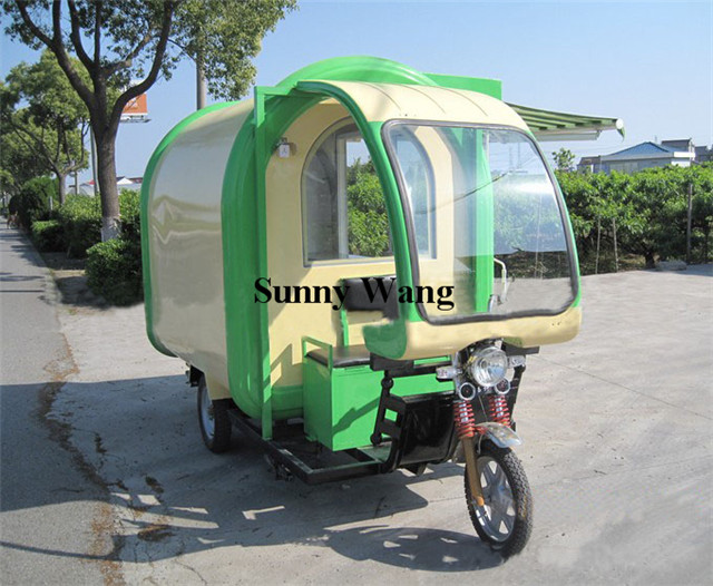 free shipping 3 wheels electric snack fast food