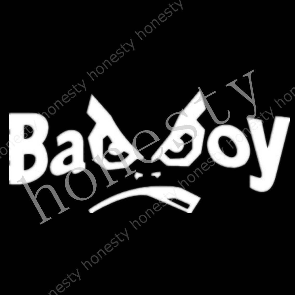 Bike sticker design online - Badboy Bad Boy Logo Sticker Evo Jdm Drift Vinyl Funny Dope Window Laptop Bike China