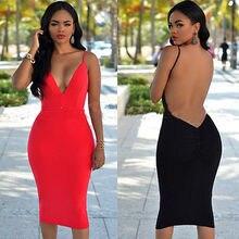 NEW Summer Sexy Women Sleeveless font b Evening b font Party font b Dress b font