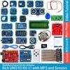Rich UNO R3 Atmega328P Development Board Module Kit C Compatible with Arduino UNO R3,with MP3 RTC Temperature Touch Sensor
