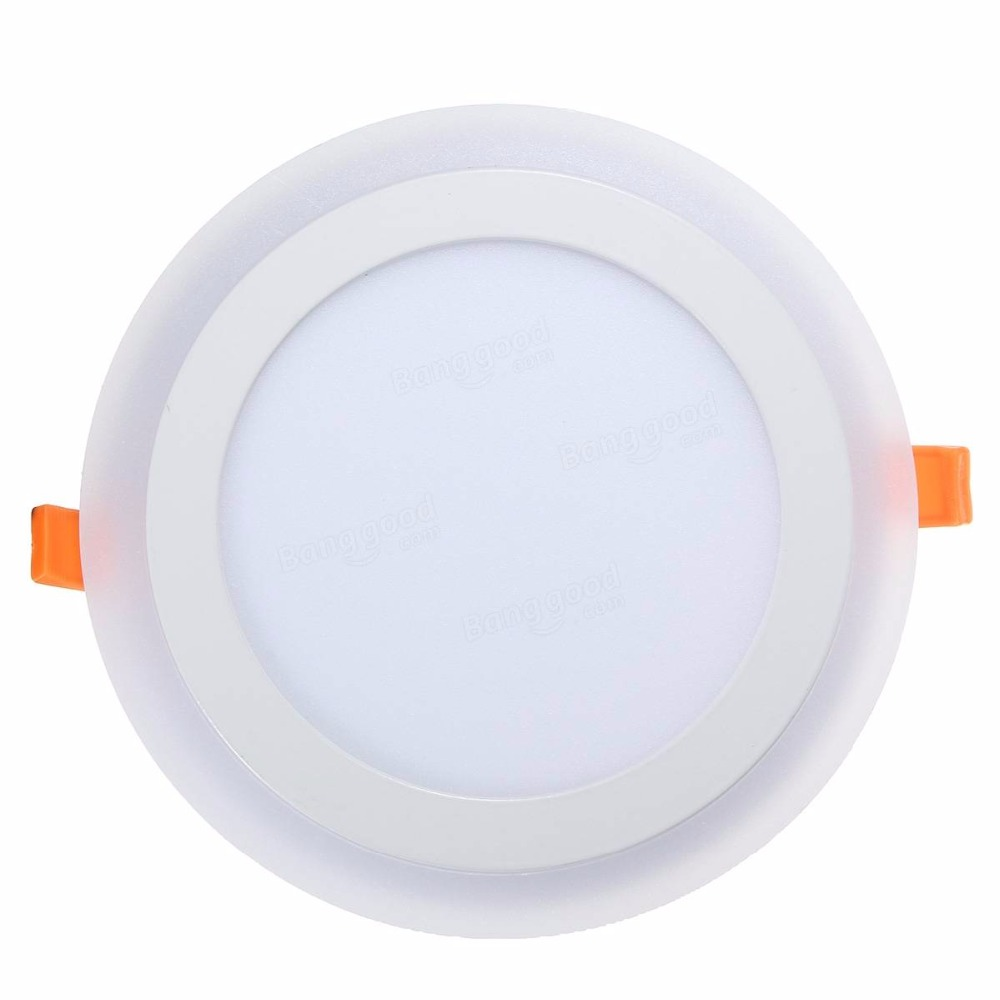 Led Panel Us 4 72 52 Off 3 Model Round Blue White Double Color Led Panel Light 6w 9w 16w 24w Ac85 265v Recessed Led Ceiling Light Indoor Lights In Led Panel