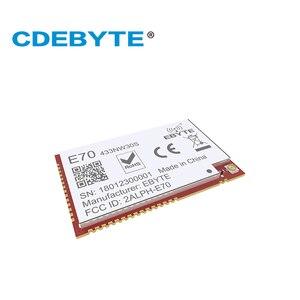 Image 3 - E70 433NW30S CC1310 433 mhz 1W yıldız ağ IPEX anten uhf kablosuz alıcı verici alıcı CC1310 433 mhz modülü