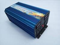 Digital Volt Display AC Inverter Solar Inverter 5000Watt / 5000W 12/24/48VDC to 110/230VAC 10000W Peak Pure Sine Wave Power Inve