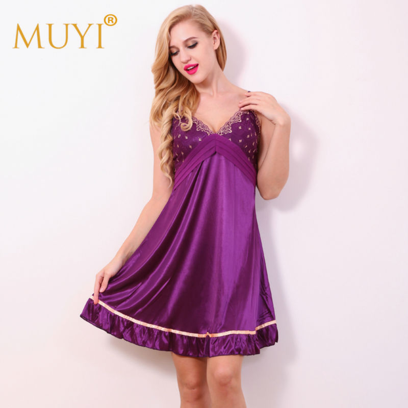 Online Get Cheap Purple Night Gown -Aliexpress.com | Alibaba Group