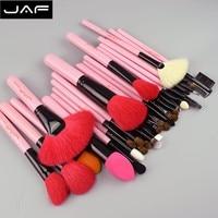 Kit Makeup Brushes 32 Pcs Professional Make Up Brush Set Goat Hair Pony Horse Hair Studio