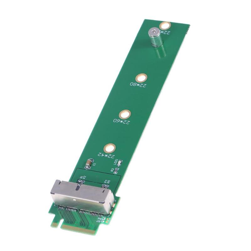 SSD To M.2 NGFF SSD Converter Card Adapter Card Supports M.2 NGFF PCIE 2X Or 4X For Apple MacBook Air A1466 A1465 2013 2014 Type
