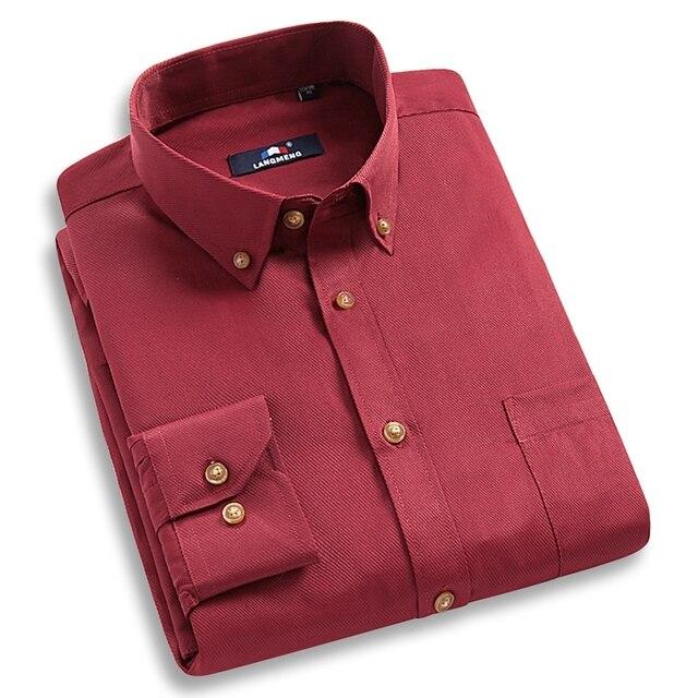 2015 Новый Стильный Платья Сплошной Цвет Социальные Мужчины Тонкий Fit Мужская С Длинным Рукавом Марка Повседневная Рубашка Сорочка Homme Camisa Masculina