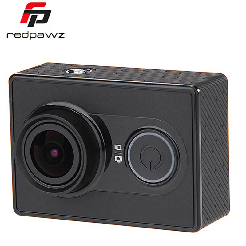 """Prix pour [Édition internationale] xiaomi yi sport caméra ambarella a7ls 16mp 155 """"1080 P WiFi Action Caméra Vidéo 3D Réduction Du Bruit"""