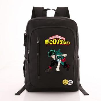 Рюкзак моя геройская академия черный 1