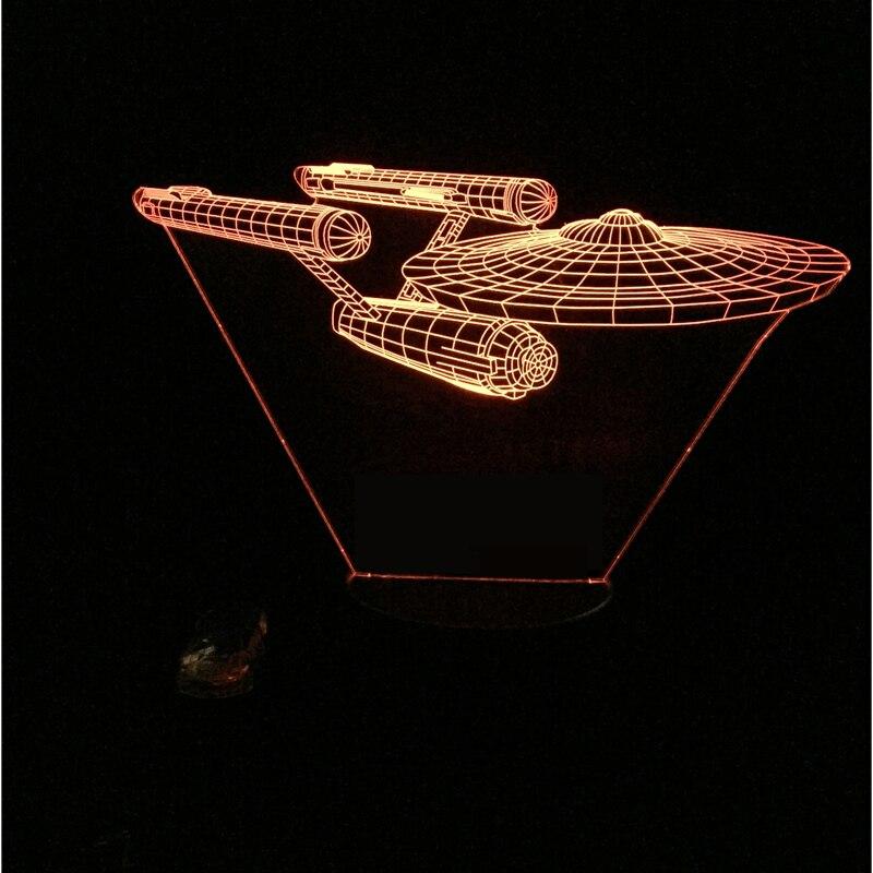 Luzes da Noite 7 mudando a cor night Formato : Spacecraft
