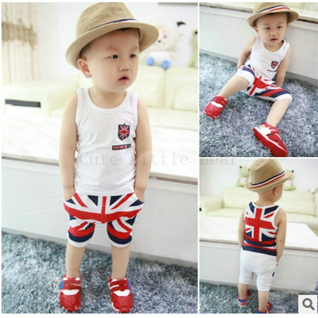 Aliexpress.com : Buy Baby boy clothes summer kids clothes set ...