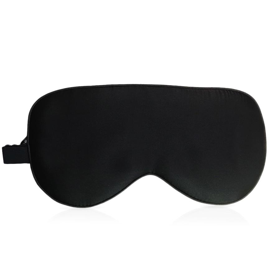 100% Natural Mulberry Silk Sleep Mask Blindfold Super Smooth Eye Mask Sleeping Aid Eyeshade Eye Cover Patch Bandage for Sleep 1