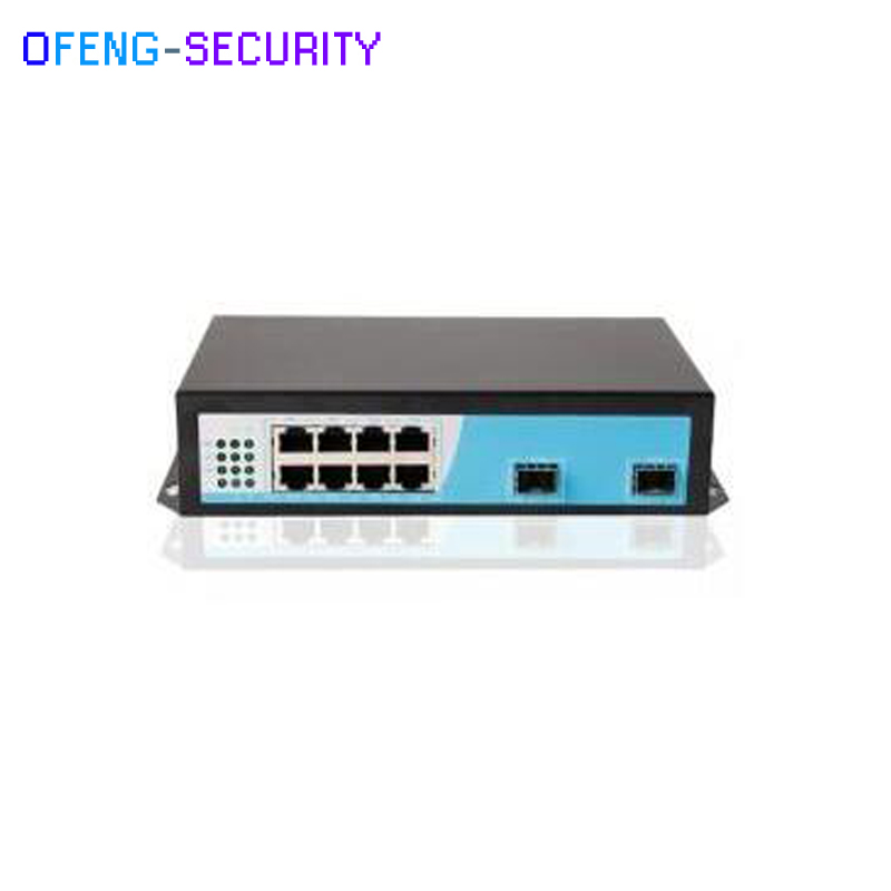 POE Switch Gigabit Poe Switch 8 Port Gigabit Ethernet Switch With 8 10/100/1000M Ports And 2 Gigabit SFP Ports