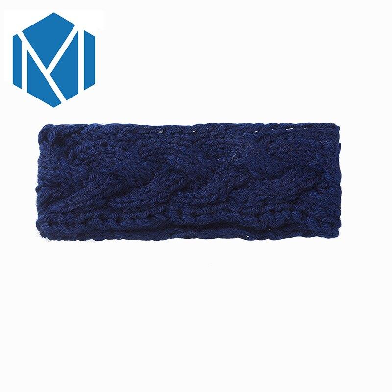 M MISM 6 patrones sólido punto diadema accesorios del pelo de la ...