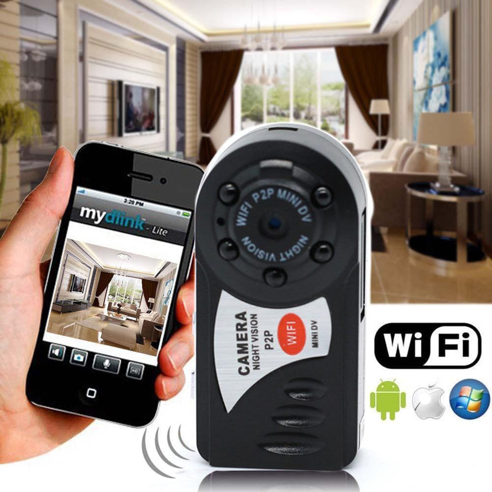 16G Card+Q7 Recorder Infrared Night Vision Camcorder Wifi IP Wireless Network Camera16G Card+Q7 Recorder Infrared Night Vision Camcorder Wifi IP Wireless Network Camera