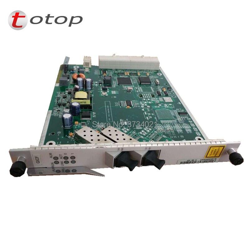 Huawei GICF 2-Ports GE Uplink OLT Card With SFP Module, Hua Wei OLT GE Uplink GPON Card GICF
