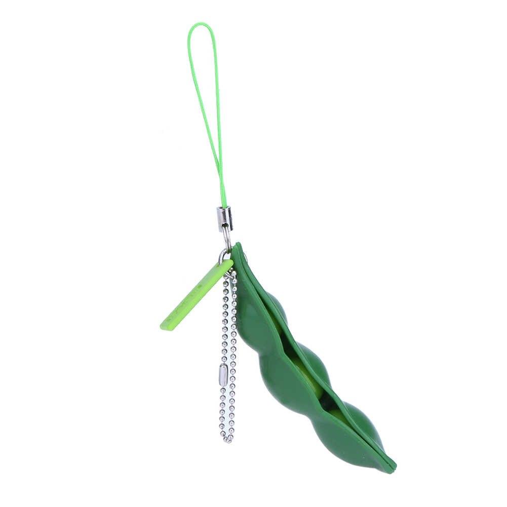 Волшебная экструзия squishy Toy антистрессовые шары с цепочка для телефона и ключей Decompress Beans Squeeze Toys офис антистресс Новинка Релакс