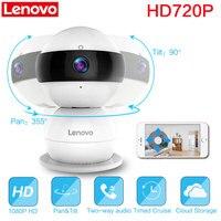 Lenovo WiFi Smart IP Camera Snowman R Wireless HD 720P Video Cctv Security Surveillance Pan Tilt