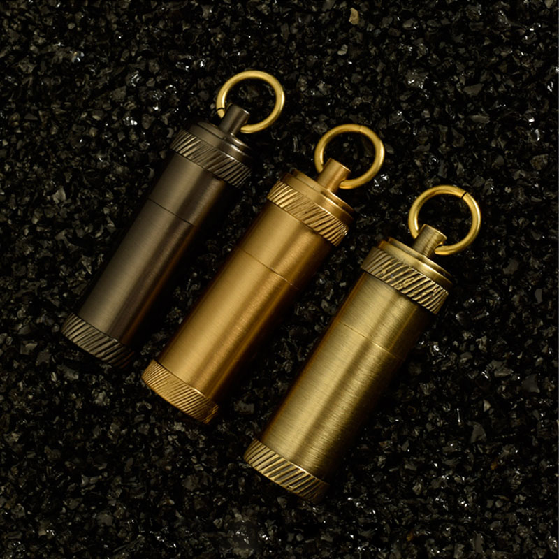 Vintage cuivre kérosène briquet rétro guerre mémorial huile briquets métal flamme porte-clés briquet nouveauté Gadget essence feu