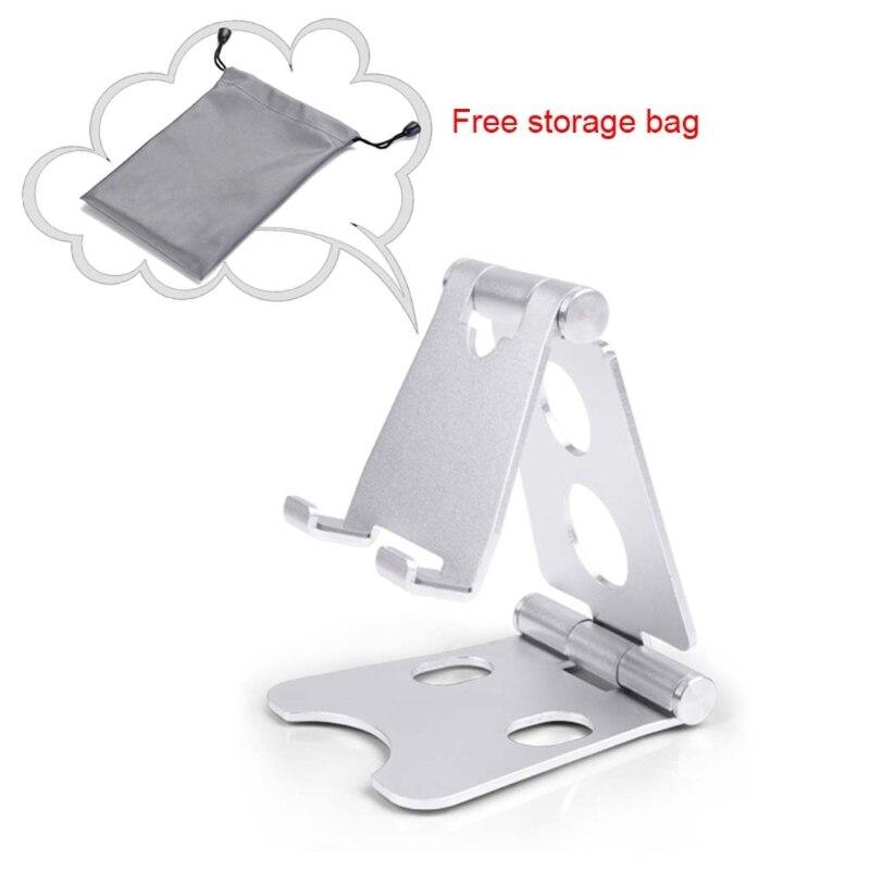 Aluminum Universal Foldable Adjustable For Smart Phone Tablet Desk Stand Mount Holder стоимость