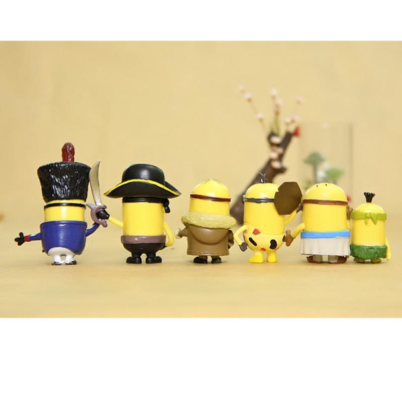 Image 5 - 12pcs Mini Despicable Me Minion Action Figures Minions PVC Toys Anime Figurines Movie Model Toy Gift for KidsBlocks   -