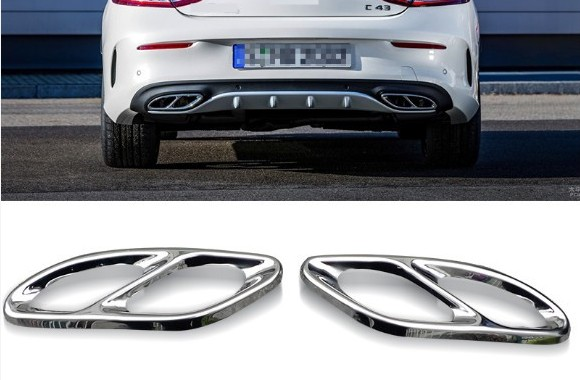 Filtro de aire Exhause de acero inoxidable de 2 a 4 accesorios para - Accesorios de interior de coche - foto 2