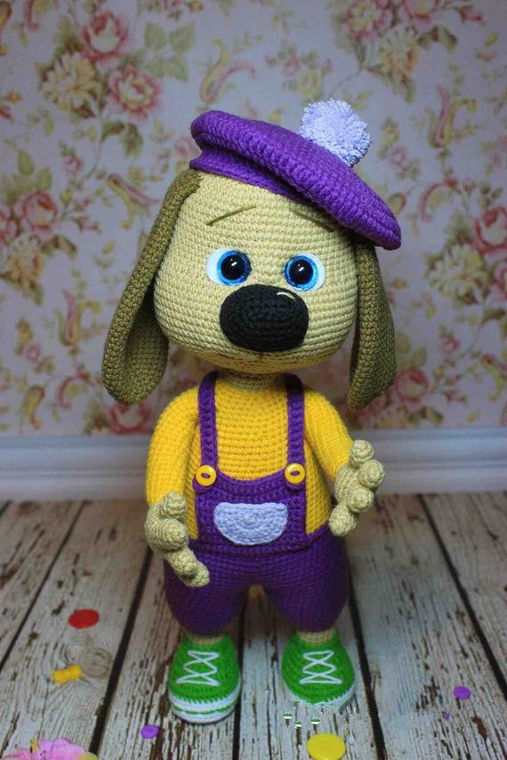 Crochet Toys  Amigurumi  Dog Girl Model Number B0143
