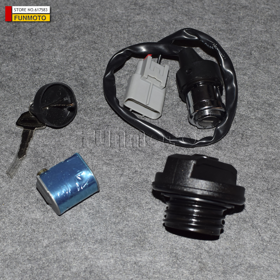 hight resolution of cfx8 cf800 cfmoto key switch ignition key 800cc lock fuel tank lock petrol tank switch cf