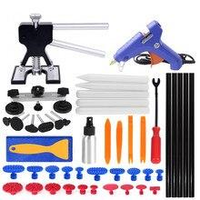 Инструменты PDR, инструменты для удаления вмятин, безболезненные Инструменты для ремонта вмятин, набор с автоматической отделкой, инструменты для удаления вмятин