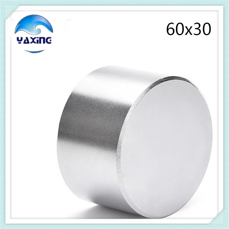 Neodymium Magnet 1PCS 60x30mm Super Strong Rare Earth Permanet Magnet Powerful  Neodymium Magnets 60*30mm sr 02 olive shaped neodymium magnet dark grey 4 pcs
