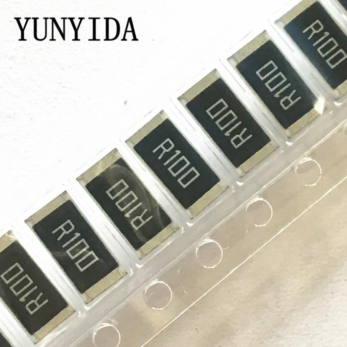50 Pcs 2512  SMD Resistor 1W  1%  0.1R   0.1 Ohm   R100   R010 R020  R050  R100 R200 R220 R330 R470 R500 1R00