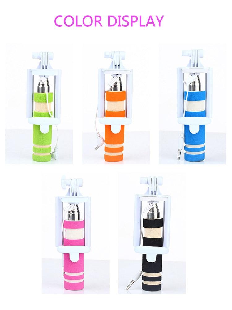 Hot Portable Mini Folding Mobiltelefon Kablet Selv Selfie Sticks For - Kamera og foto - Foto 1
