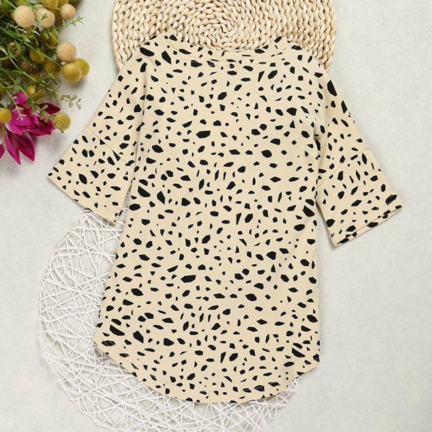 Kleinkind mädchen kleidung Leopard Druck kinder kleider für mädchen ...